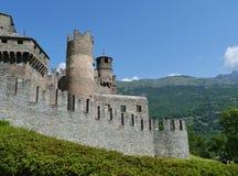 Fenis Aosta dolina Zdjęcia Stock