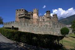 Fenis Castle Royalty Free Stock Photos
