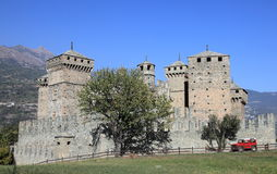 Fenis castle, Italy Royalty Free Stock Image