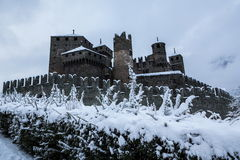 Fenis castle Royalty Free Stock Photography