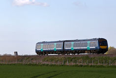 Fenland commuter service Royalty Free Stock Photography