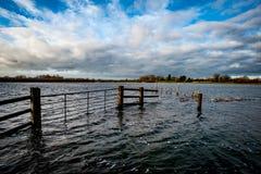 Fenland flooding Stock Image