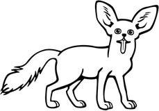 Fennec Fox 皇族释放例证