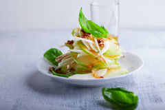 Fennel and apple salad Stock Images
