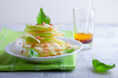 Fennel and apple salad Royalty Free Stock Photography