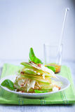 Fennel and apple salad Stock Image