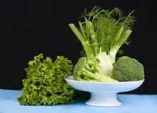 Fennel/Broccoli,Lettuce Stock Image