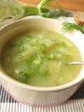 Fennel cream soup Stock Images
