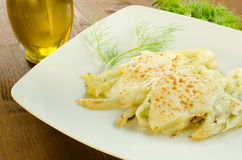 Fennel gratin Stock Photography