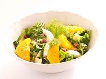 Fennel orange salad Stock Photography