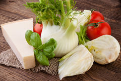 Fennel prepared for cooking Stock Photography
