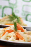 Fennel salad with oranges Royalty Free Stock Photography