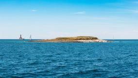 Fenoliga Island. Near the Northern Part of Kamenjak Peninsula, Istria, Croatia stock photos