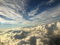 Fenomenal sikt av himlen Arkivfoton