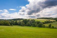 Fenomenalny lato krajobraz Obraz Royalty Free