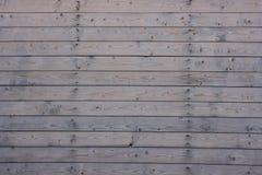 Fense-02 de madeira cinzento Imagem de Stock