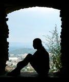 Fensteröffnung Lizenzfreies Stockfoto