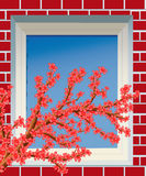 Fenster. Lizenzfreies Stockbild