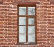 Fenster abgedeckt mit frostwork Stockfotografie