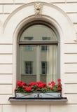 Fenster-alte Stadt Lizenzfreie Stockfotos