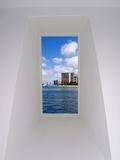 Fenster-Ansicht Stockfoto