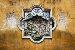 Fenster Antigua-Guatemala lizenzfreie stockbilder