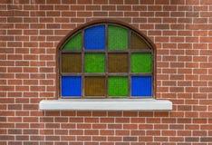 Fenster auf Backsteinmauer Lizenzfreie Stockfotografie