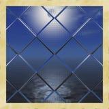 Fenster auf den Ozean Lizenzfreies Stockbild