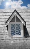 Fenster auf Haus Lizenzfreies Stockbild