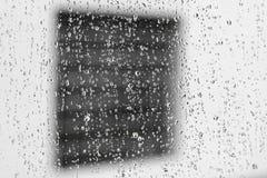 Fenster aus Fenster heraus Stockfoto