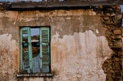 Fenster an den Ruinen Lizenzfreies Stockbild
