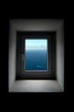 Fenster der Freiheit Stockfotos