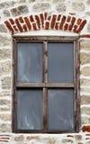 Fenster der Kirche stockbild