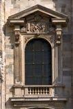 Fenster in der Mailand-Haube Lizenzfreie Stockfotos