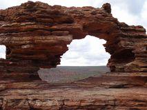 Fenster der Natur Stockfotografie