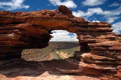 Fenster der Natur, WA Australien Lizenzfreie Stockfotos