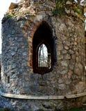 Fenster der Ruine Lizenzfreie Stockbilder