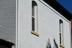 Fenster der runden Spitze des 19. Jahrhunderts Lizenzfreie Stockfotos