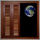 Fenster der Welt stockfotos