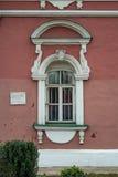 Fenster in der Zelle des Donskoi-Klosters stockfotografie