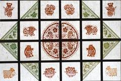 Fenster des chinesischen Papiers Stockbilder