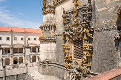 Fenster des Kapitelsaales am Kloster von Christus Stockfoto