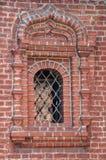 Fenster des Krutitsy patriarchalisches Metochion Stockfoto