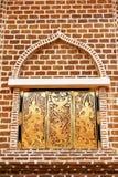 Fenster des Tempels stockbilder