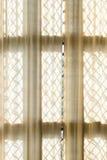 Fenster drapieren Lizenzfreie Stockbilder