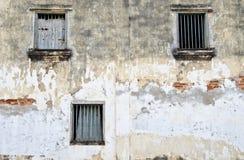 Fenster drei Stockfoto
