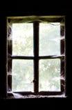 Fenster in einem alten Haus Lizenzfreies Stockfoto