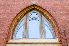 Fenster eines Tempels Stockfoto