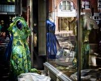 Fenster-Einkaufen Stockfotografie