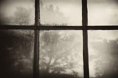 Fenster, früher Morgen Lizenzfreie Stockbilder